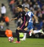Silva de Neymar a Dinamarca do FC Barcelona Fotografia de Stock