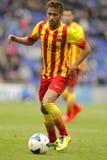 Silva di Neymar da del FC Barcelona Fotografie Stock