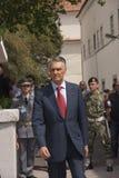 Silva di OS Portogallo AnÃbal Cavaco del Presidente Immagini Stock Libere da Diritti