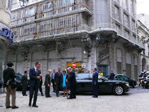 silva för cavacoportugal president Royaltyfria Bilder