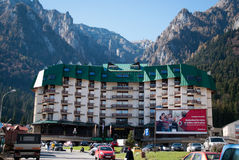 Silva mountain hotel Royalty Free Stock Image