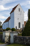 Silvakra Church. A small Church in the countryside in Southern Sweden Royalty Free Stock Images