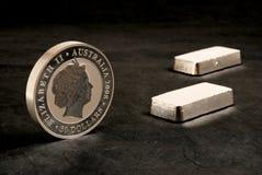 silver royaltyfria bilder