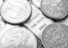 Silver royalty free stock photos