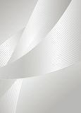 Silver. Illustration of silver design background Stock Photography