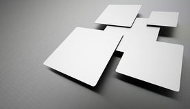 Silver abstract business background Stock Images