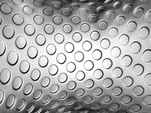 Silver abstract embossed dot background Royalty Free Stock Photo