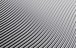 Free Silver Abstract Image Of Lines Background. 3d Render Royalty Free Stock Images - 86293379