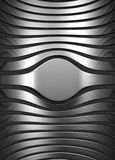 Silver abstract stripe background Royalty Free Stock Photography