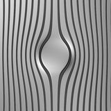 Silver abstract stripe luxury background. 3d illustration Royalty Free Stock Images