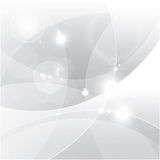 Silver abstract vector background Stock Photo