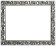 Free Silver Aged Vintage Picture Frame Royalty Free Stock Photography - 8114527