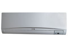 Silver air conditioner Royalty Free Stock Images