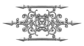 Silver alloy pattern Royalty Free Stock Photos