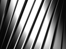 Silver aluminium stripe background Royalty Free Stock Image