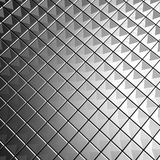 Silver aluminium tile background 3d illustration Stock Photo
