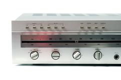Silver Analog Receiver Royalty Free Stock Image