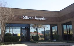 Silver Angels of Memphis, Tennessee stock image