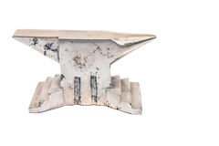 Silver anvil Stock Image