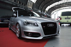 Silver Audi S3 Royalty Free Stock Photography