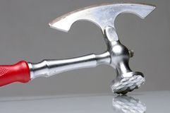 Silver Axe Royalty Free Stock Photo