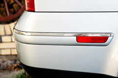 Silver back bumper Royalty Free Stock Photography