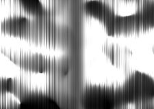 Silver background. The unidentified silver object computer generated Royalty Free Stock Photography