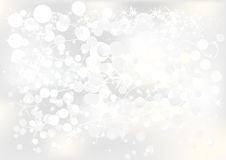 Silver Background for cards Royalty Free Stock Image