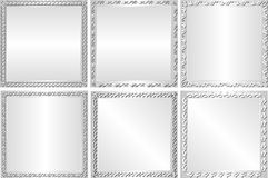 Silver background Stock Image