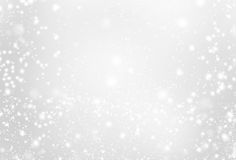 Silver background with sparkling - abstract grey and white  ligh Royalty Free Stock Images
