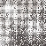 Silver background. Of sparkling sequins Royalty Free Stock Photo