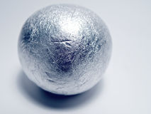 Silver Ball Royalty Free Stock Images