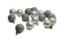 Silver balls Royalty Free Stock Photos