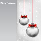 Silver Bals Stock Photos
