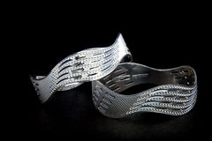 Silver bangles and Gents kada & x28; Band & x29;. WhiteAngle  New Design& x27;s 9803561775 Stock Photography