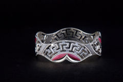 Silver Bangles Royalty Free Stock Photo