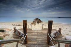 Silver Beach, Kurnell, Sydney Australia Royalty Free Stock Images