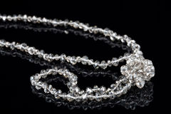 Silver Beads Stock Images