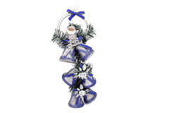 Silver bell christmas Stock Images