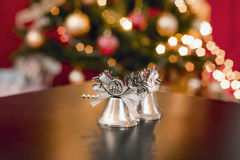 Silver bells Royalty Free Stock Photography