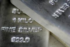 Silver Bilion Stock Photography