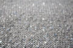 Silver blänker abstrakt bakgrund Fotografering för Bildbyråer
