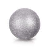 Silver blänker illustrationen för bollen 3D Royaltyfri Fotografi