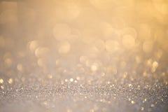 Silver bl?nker julabstrakt begreppbakgrund fotografering för bildbyråer
