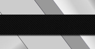 Silver and black metal background. Material design vector illustration EPS10 Royalty Free Stock Images