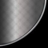 Silver and black metallic background. Abstract vector illustration Royalty Free Stock Photos