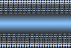 Silver Blue Mesh Stock Image