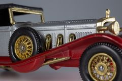 Matchbox Models of Yesteryear Y-16 Mercedes-Benz SS Coupe royalty free stock photos