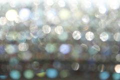 A silver bokeh Stock Photography