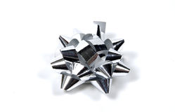 Silver Bow Stock Images